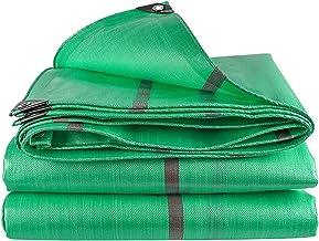 ZZYE Dekzeil Heavy Duty Green Poly Tarp, Multifunctionele Polyethyleen Plastic Waterdichte Doek Camping Tent Poly Tarpauli...