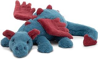Jellycat Dexter Dragon Stuffed Animal, Medium 19 inches