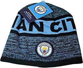 Manchester City Beanie Cap Hat Winter  Official Authentic Licensed New Season