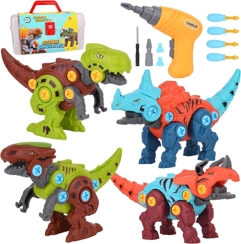 Take Apart Ranking TOP1 Dinosaur low-pricing Toys for Kids Pack Dinosaurs 3-5 Build 5-7 4