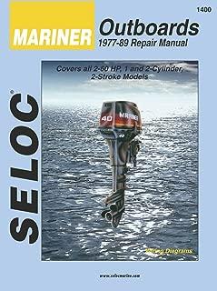 Sierra International Seloc Manual 18-01400 Mariner Outboards Repair 1977-1989 2-60 Ho 1-2 Cylinder 2 Stroke Model
