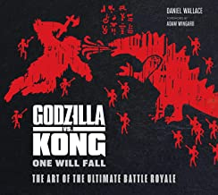 ART OF GODZILLA VS KONG HC: One Will Fall: The Art of the Ultimate Battle Royale
