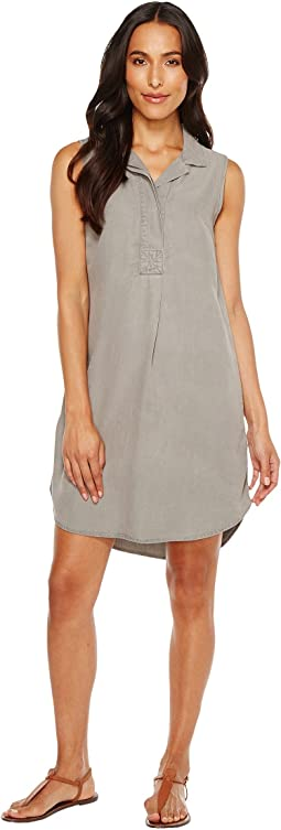 Mod-o-doc - Tencel Chambray Sleeveless Shirtdress
