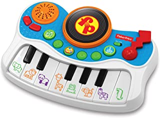 Fisher-Price – Musical Kids Studio Electronic Piano, Musical Instrument, Educational Toy, Interactive Music Toy, Toddlers, Ages 3+