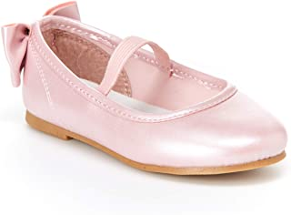 Simple Joys by Carter's Toddler and Little Girls' (1-8 yrs) Ana Ballet Flat