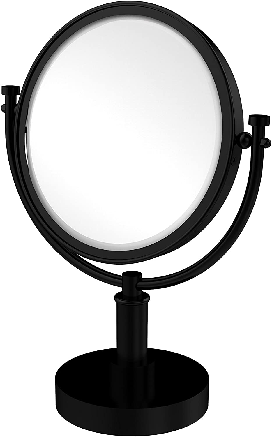 Allied Brass DM-4 4X-ORB Oil Rubbed Bronze Universal 8  Table Mirror 4x Magnification from the Universal Collection