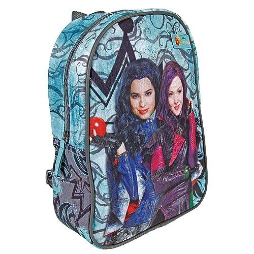 87f1b291bda PERLETTI 13730 Disney Descendants Mini Backpack - School Bag for  Kindergarten with Mal   Evie -