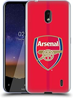 Official Arsenal FC Home 2016/17 Crest Kit Soft Gel Case Compatible for Nokia 2.2