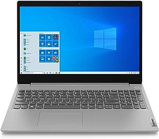 Lenovo IdeaPad 3i 15IIL05 Ordinateur Portable Ultraslim 15.6'' FHD Gris platine (Intel Core i3, RAM 4Go, SSD 256Go, Intel UHD Graphics, Windows 10) - Clavier AZERTY (français)
