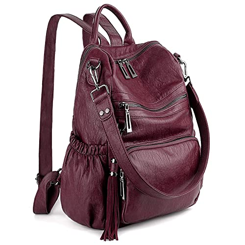Ladys Red Backpack: Amazon.com