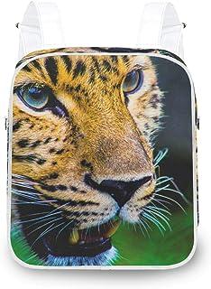 LUPINZ Animal Leopard Head Mochila Durable Mochila Bolso de hombro Mochila