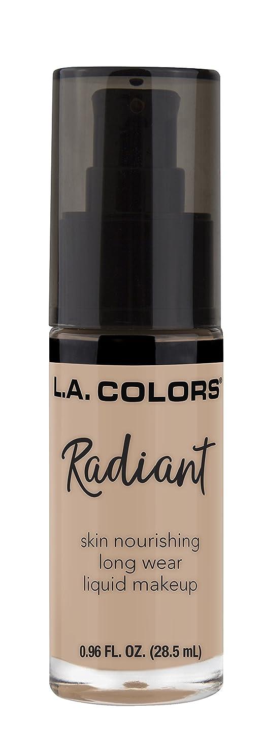 ダルセット鹿妊娠したL.A. COLORS Radiant Liquid Makeup - Beige (並行輸入品)