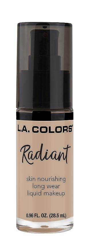 珍しいもう一度くちばしL.A. COLORS Radiant Liquid Makeup - Beige (並行輸入品)