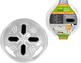Hover Cover Magnetic Microwave Splatter Lid with Steam Vents Cover | Dishwasher Safe BPA..