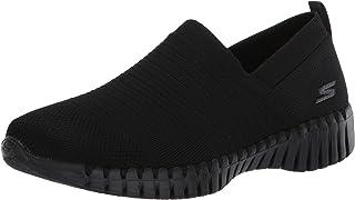 Skechers Performance Go Walk Smart-Wise, Zapatillas Mujer, Negro (BBK Black Textile/Trim), 39 EU
