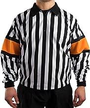 Force Pro Hockey Referee Jersey w/Orange Armbands