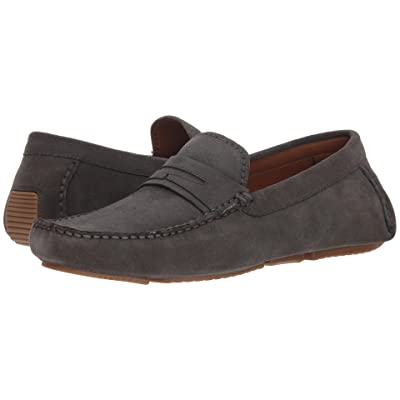 Aquatalia Brandon (Dark Charcoal Suede) Men