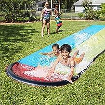 LBWNB Toboganes De Agua Water Slide Pista Deslizante Hinchable para Infantil Juegos De Piscina En El Patio 480 X 140 Cm