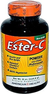 Pack of 2 x American Health Ester-C Powder with Citrus Bioflavonoids - 8 oz