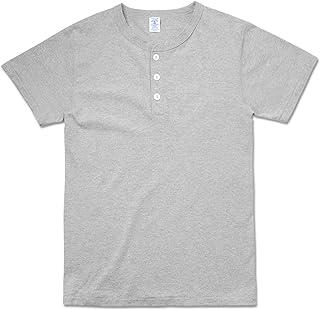 Velva Sheen ベルバシーン 161007 S/S ヘンリーネック Tシャツ MADE IN USA