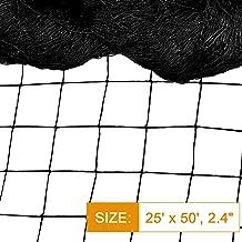 DQS Bird Net - 25' x 50' Garden Netting with 2.4