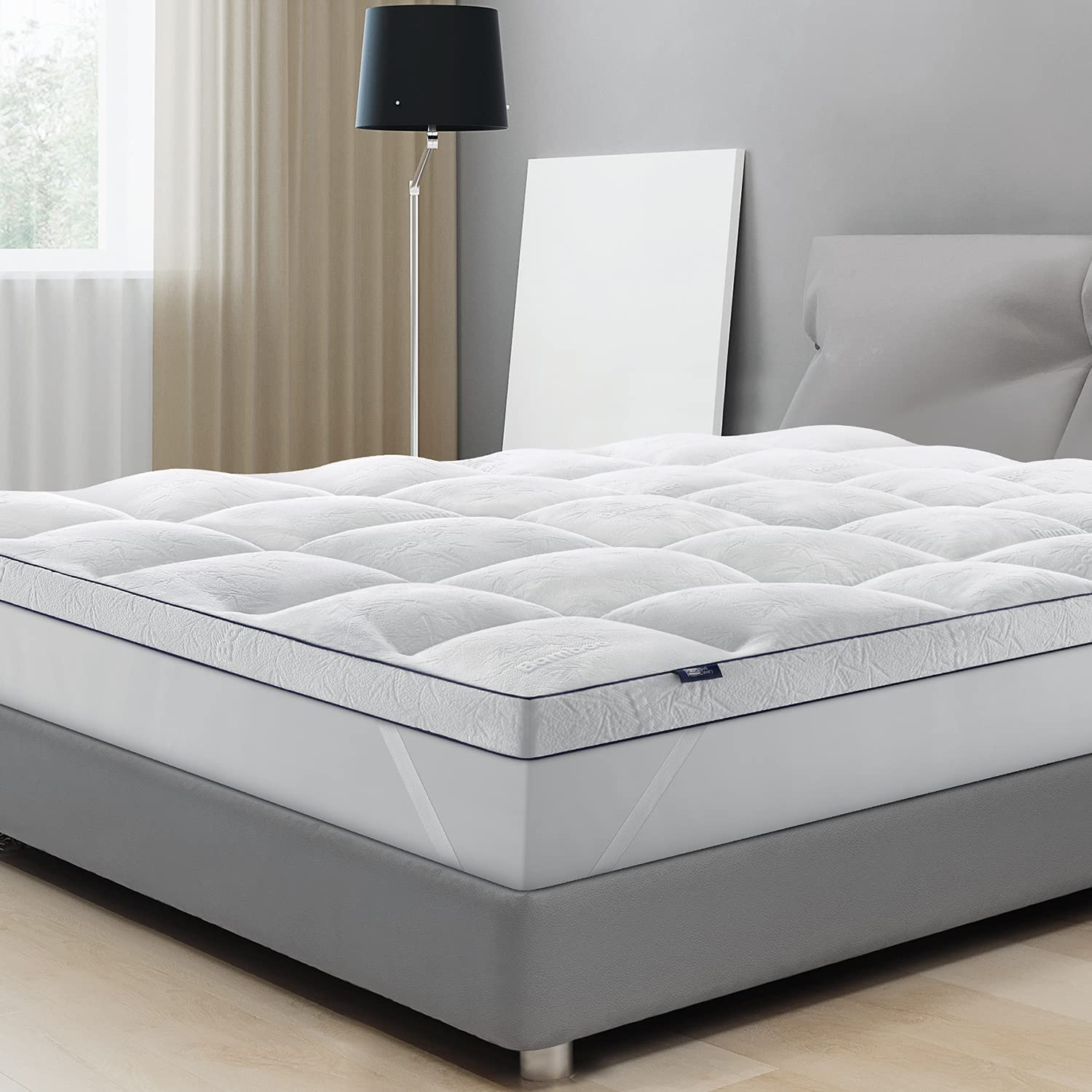 BedStory Bamboo Mattress Topper Queen Mattr Cooling Extra Discount mail order Deluxe Thick
