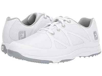 FootJoy Leisure Spikeless (White/Silver) Women