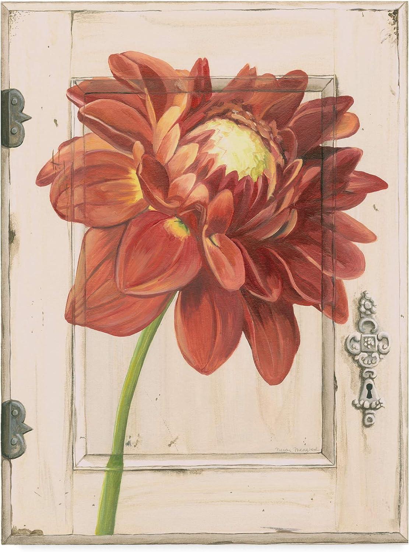 Trademark Fine Art Dahlia Door Art by Megan Meagher, 14x19