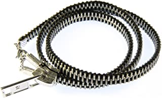 Miniblings Reißverschluss Armband Vintage Upcycling Recycling Wickelarmband schw - Modeschmuck Handmade - Damen Mädchen Bettelarmband