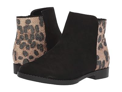 Kenneth Cole Reaction Kids Kennedy Leopard (Little Kid/Big Kid) (Black) Girls Shoes