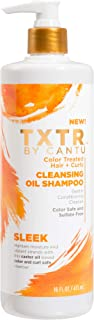 Cantu Txtr By Sleek Color Treated Hair + Curls Cleansing Oil Shampoo - 16 Fl Oz, 16 Oz