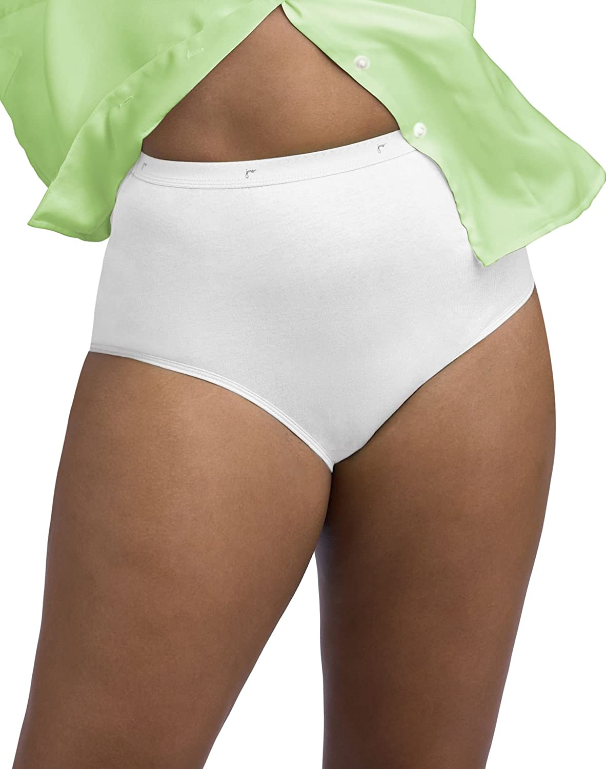 JUST MY SIZE Nylon Briefs 3 Over item handling ☆ - Colors Jacksonville Mall 0601wp Pack Assorted