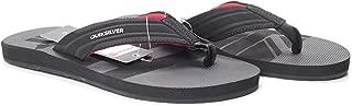 Quiksilver Men's Shoes 8M Island Oasis Hi Faux Nubuck Sandal Black 8