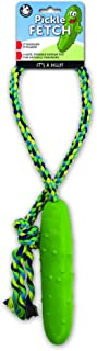 Pet Qwerks Tug & Toss Dog Toys - Tough, Durable, Interactive Toy   Best for Tug of War, Exercise, Fetch & Puppy Training!   Safe & Strong for for Small to Large Dogs and Puppies