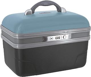 SAVEBAG - ASHOKA - Vanity rigide - bleu rétro/anthracite - 34 X 20 X 23 cm - 1,6kg - 13 L