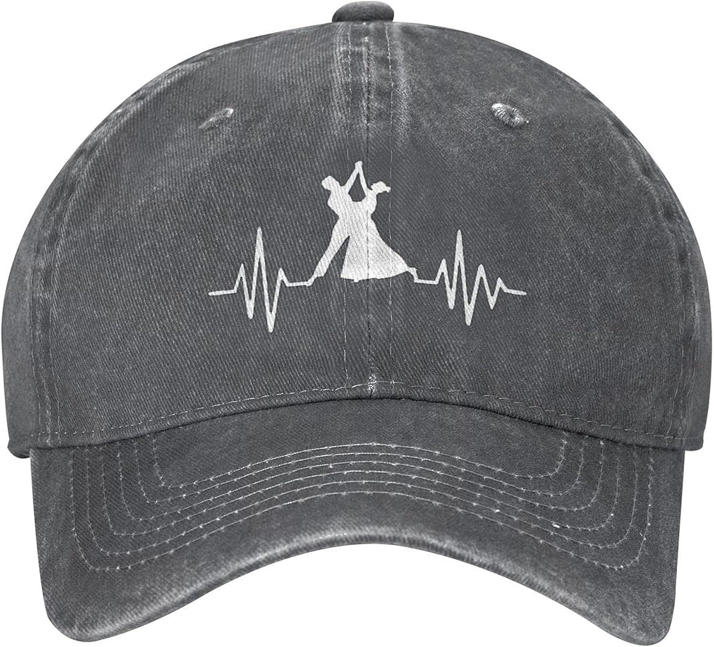 Guncore Dancing Sports Cowboy Cap Original Fashion Retro Dad Baseball Hat Outdoor Travel(Unisex)