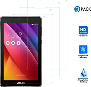 ASUS ZenPad 7.0 Z370KL保護フィルム,【IVSO】ASUS ZenPad 7.0 Z370C 液晶保護フィルム, 反射低減タイプ 光沢表面仕様 画面保護&指紋防止シート 超極細繊維クリーナークロス付き- ASUS ZenPad 7.0 Z370シリーズ 専用 液晶保護フィルム
