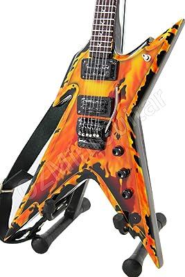 Miniature Guitar Dimebag EXPLOSION Razorback /& Strap