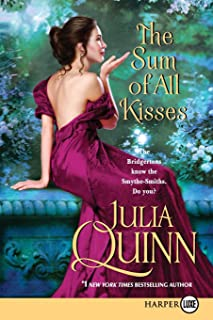 The Sum of All Kisses (Large Print)