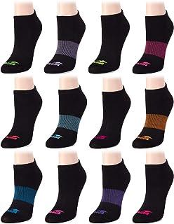 Avia Women's Lightweight Athletic No Show Socks (12 Pack)