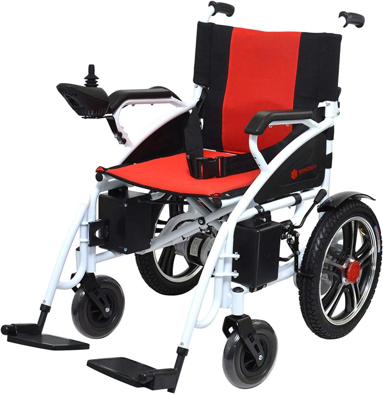 Popular overseas Hercules Deluxe Lite Electric Powered Wheelchair -Powerful Lightweight