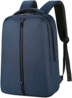Casual Backpack Men's Travel Bag Computer Bag Student Bag High Capacity Unisex Business Bookbag,Blue