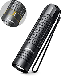 Flashlight,NICRON N81 Tactical EDC Flashlight 700 Lumens,Zoomable,Water Resistant,5 Modes,Handheld Light-For Camping, Outdoor, Emergency, Everyday Flashlights(18650/AA Not included)