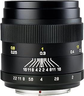 中一光学(ZHONG YI OPITCS) 単焦点レンズ CREATOR 35mm F2 (ニコンFマウント)(ブラック)