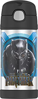 Thermos F4018BPM6 Funtainer 12 Ounce Bottle, Black Panther