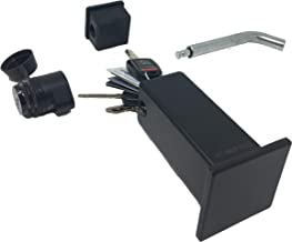 Beech Lane Locking Hitch Storage Box, Included Combo Lock Hitch Pin, Sturdy and Secure, Large Storage Space, Waterproof