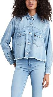 suave y ligero completamente elegante original de costura caliente Amazon.es: levis camisa vaquera: Ropa