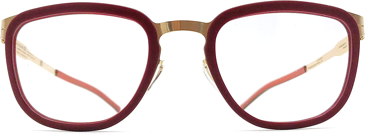 Ic  berlin Kathi B. Eyeglasses in pink gold & Very Berry Washed