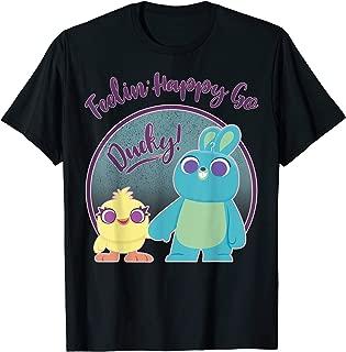 Pixar Ducky and Bunny Feeling Happy Go Ducky T-Shirt