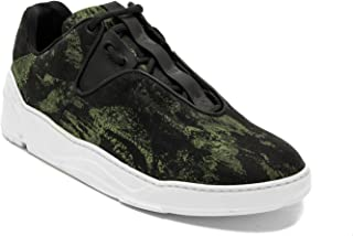 Dior Men's Canvas B17 Trainer Sneaker Shoes Camoflauge Black/Green